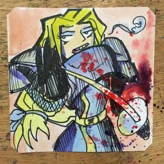 Hey Charlotte! Samurai Showdown 4 @LordBBH