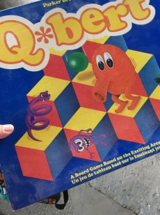 Q*bert the board game