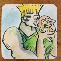 Guile in Street Fighter II: The World Warrior @LordBBH