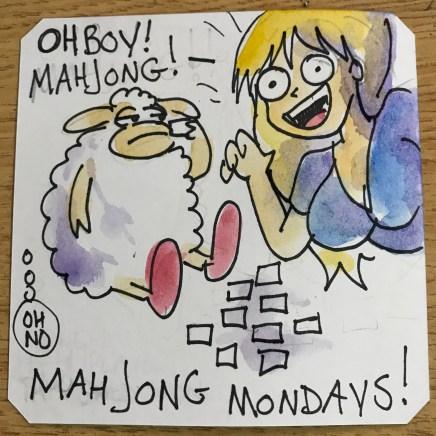 The return of Mahjong Mondays! Black Touch @LordBBH