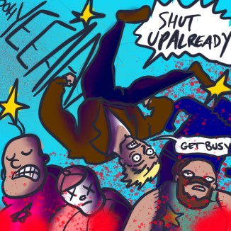 Since were going to be on the fire escape for a while..... here's some Dank Art of DD Crew @LordBBH