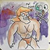 Australopithecus Mechanicus on Amiga @bouphe