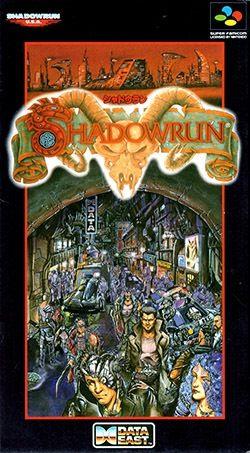 Video Games Shadowrun SNES