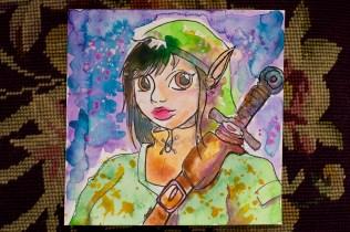 Sarah as Link- Birthday Gift