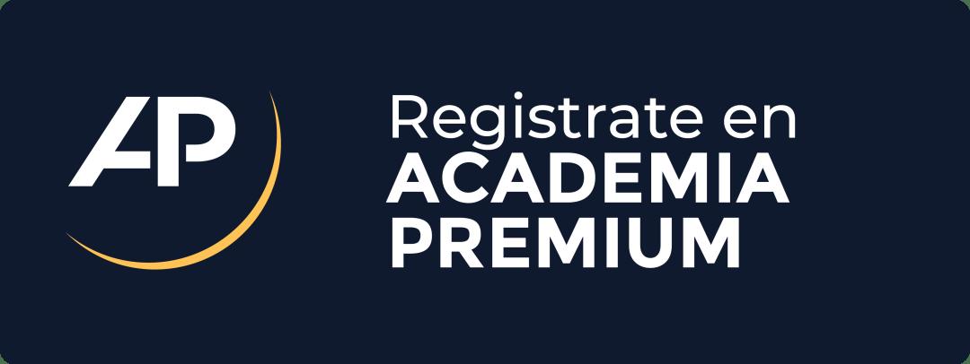 Botón registro Academia Premium