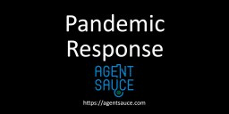 Pandemic Response Intro Slide