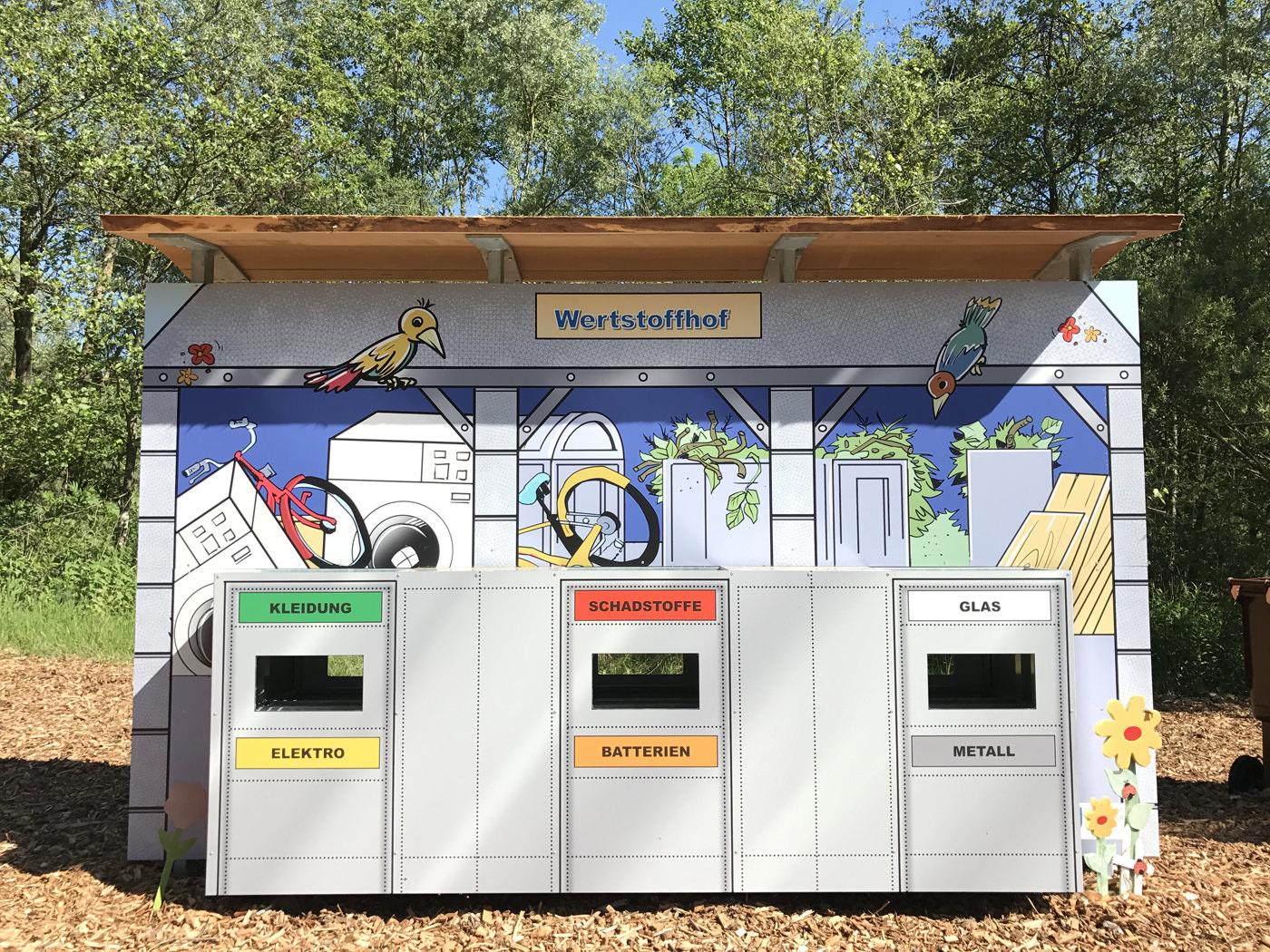 Kindererlebniswelt - Erlebnisdeponie - Wertstoffhof