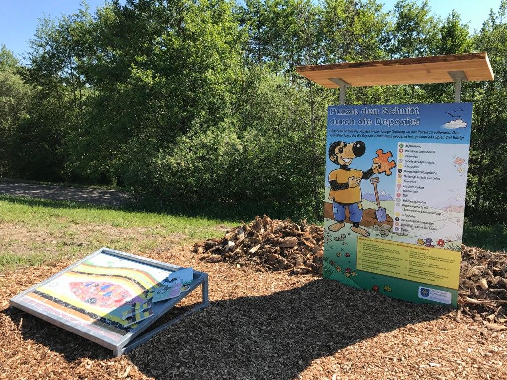 Kindererlebniswelt - Erlebnisdeponie - Wertstoffhof Puzzle