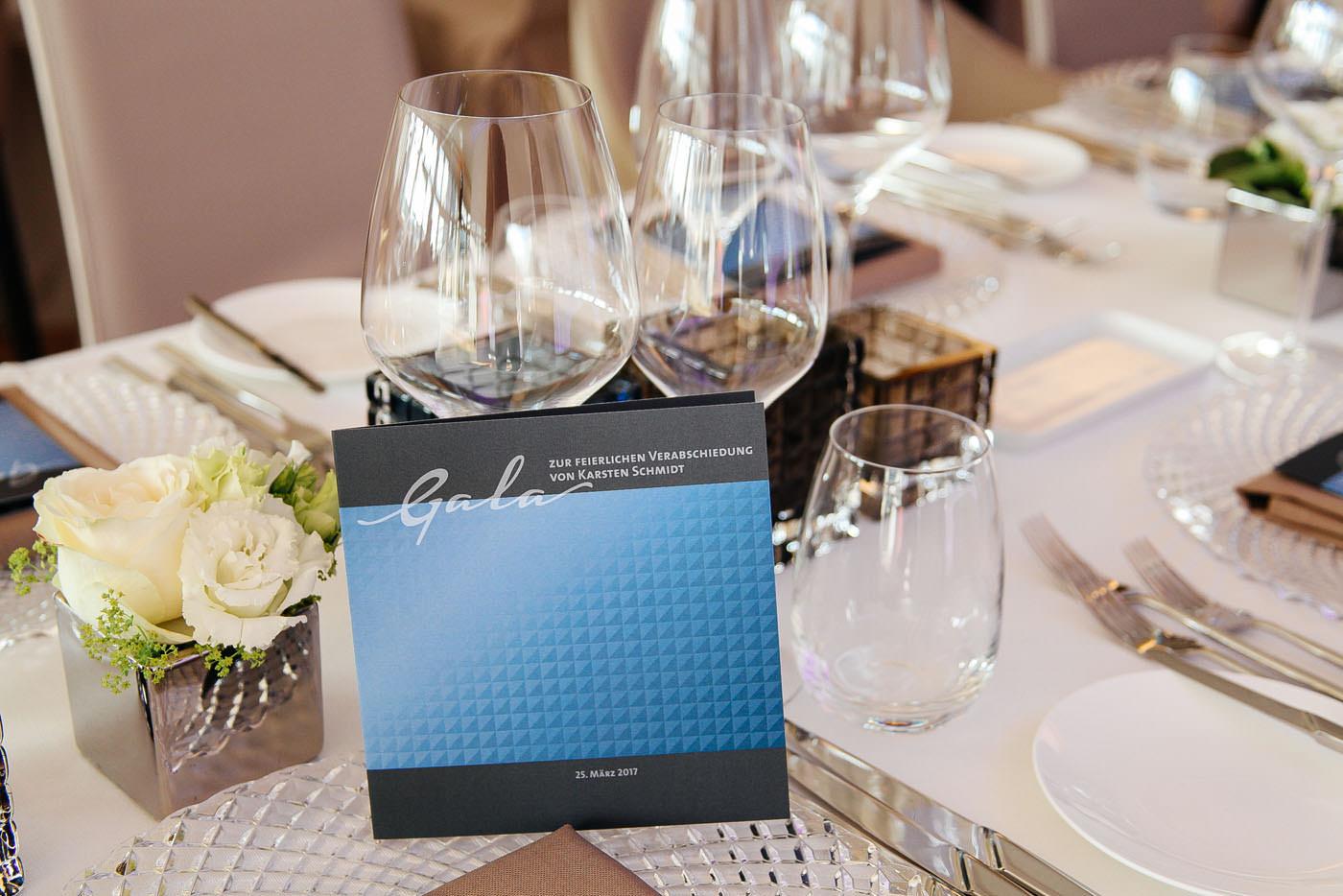 Events, Gala, Veranstaltung,  Ravensburger, Agentur Ravensburger,  Tischdekoration