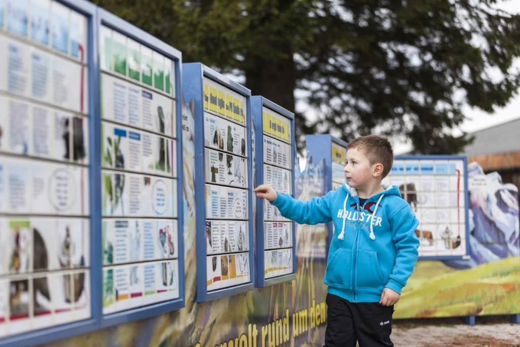 Kinder-Bergwelt auf dem Pfänder, Erlebniswelten, Kindererlebniswelten, Spielmodule, Dreh-Puzzle, Agentur Ravensburger