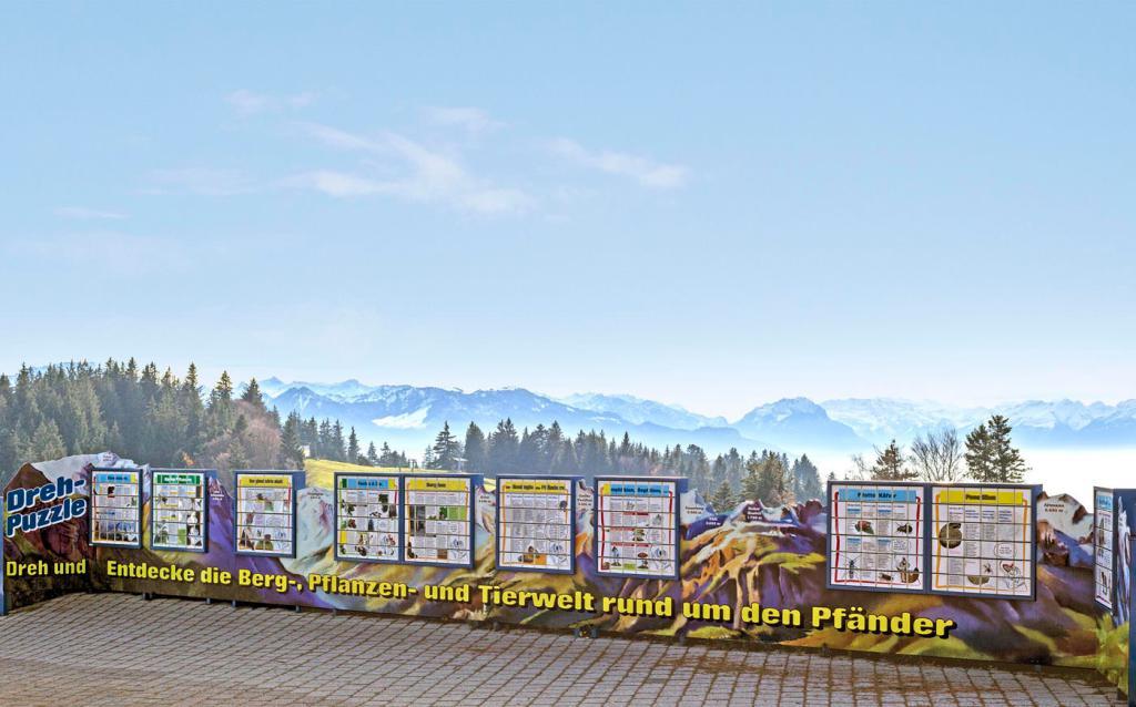 Kinder-Bergwelt auf dem Pfänder, Erlebniswelten, Kindererlebniswelten, Spielmodule, Dreh-Puzzle, Panorama, Agentur Ravensburger