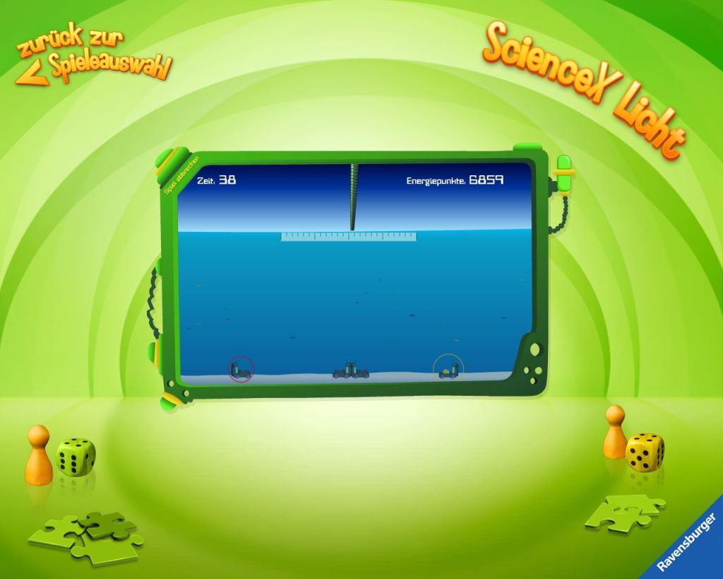 Übersicht der Kinder-Apps. Ravensburger Kinder Touch Computer, Lernen, Experimente, Wissenschaft, Licht, Spiele, Spielelement
