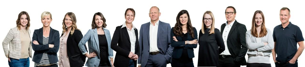 Agentur Ravensburger - Teamfoto