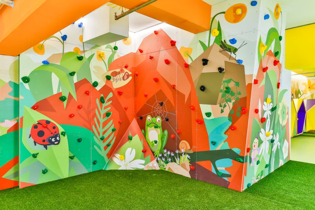 •Erlebniswelten - Kindererlebniswelten - Kinder Kletterwand - Centrolino Kinderland - Centro Oberhausen