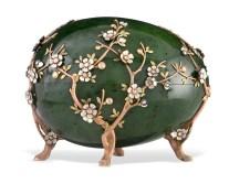 Apfelblütenei, Fabergé © Liechtensteinisches Landesmuseum, Sven Beham