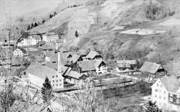 Weppach – Eulental um 1900 © Stadtarchiv Dornbirn