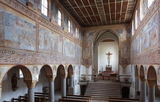 Ottonische Wandbilder in der Kirche St. Georg in Reichenau-Oberzell