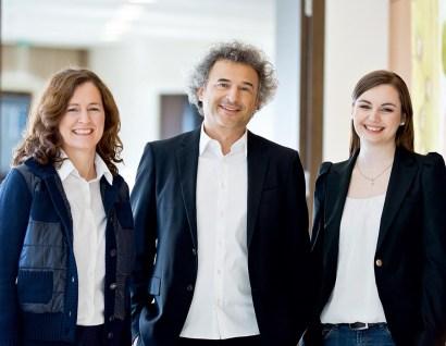 v.l.n.r. Carmen Niederacher-Ferraton, Roland Pircher, Katharina Brenner © Darko Todorovic, Bauart