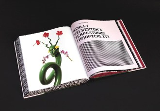 ASHLEY BICKERTON BOOK Monographie des Künstlers Ashley Bickerton © Sagmeister & Walsh