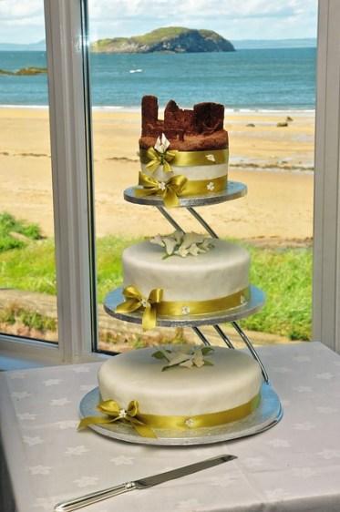 Strandhochzeit Hochzeitstorte