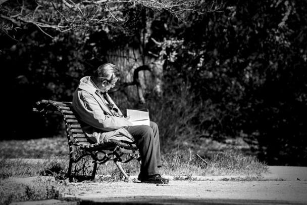 Witwer alleine