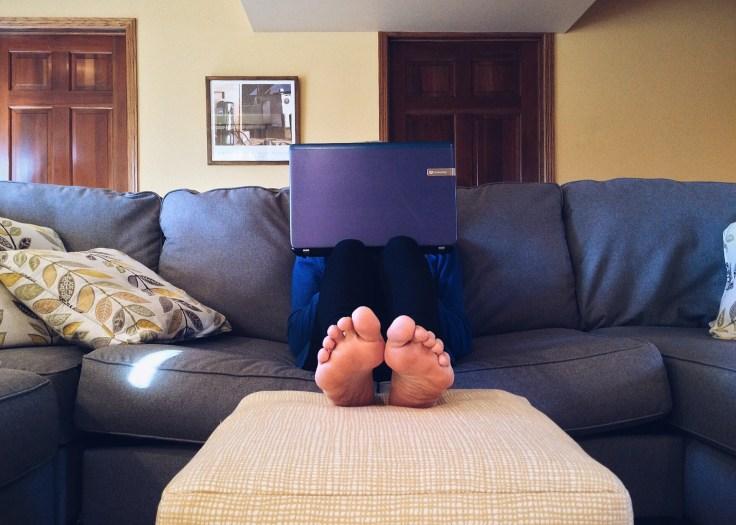 Leben mit einem Couchpatato