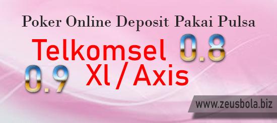 Poker Online Deposit Pakai Pulsa