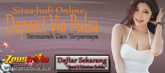 Situs Judi Online Deposit Via Pulsa Termurah Dan Terpercaya