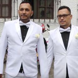 酷新聞:好幸福!南美洲哥倫比亞 首對同志伴侶結婚