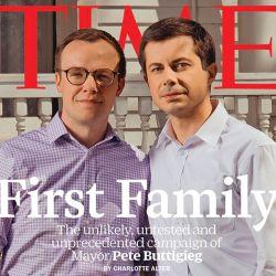 酷新闻:同志总统候选人与丈夫登《时代》杂志封面