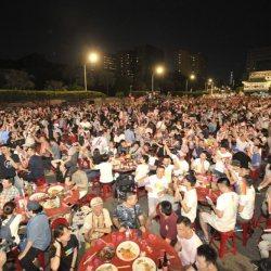 酷新闻:凯道千人流水席 祝福首批同志伴侣结婚