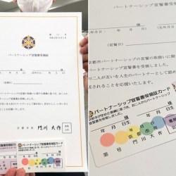 酷新闻:日本京都迎接 同性伴侣证明 点亮地标彩虹灯