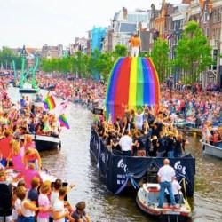 酷新闻:荷兰 阿姆斯特丹2015同志游行