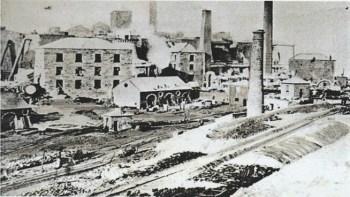 Merthyr Tydfil ironworks