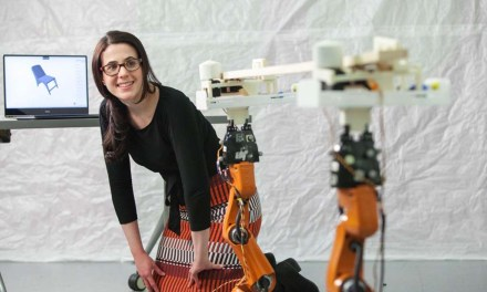 Custom carpentry with help from robots
