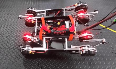 Google robot teaches itself to walk