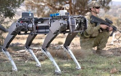 ARES Security Partners with Ghost Robotics for large US contract.