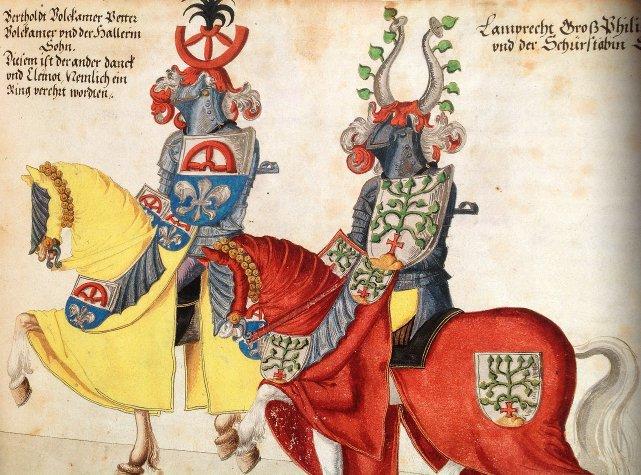 1 armati a cavallo