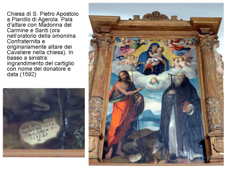 7 Altare dei Cavaliere a Pianillo
