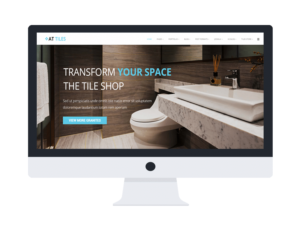 at tiles free responsive construction