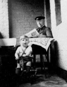 Uropa Josef mit Heinz Agethen