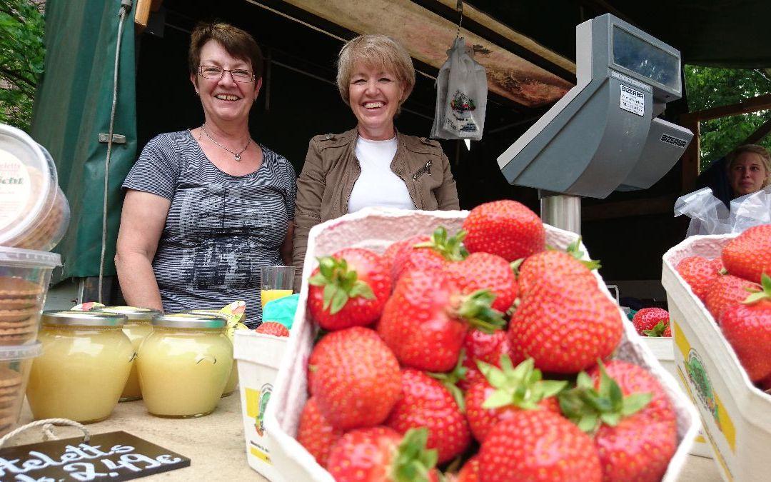 Regionalität live! Agethen´s Erdbeeren kommen aus Oberhausen