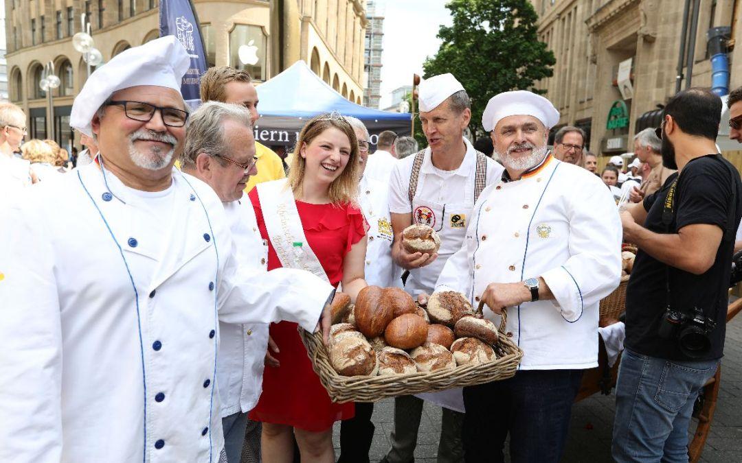 Pressemitteilung: Tag des deutschen Brotes in Köln 2018