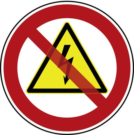Stromausfall! Bei uns geht heute der Strom aus!