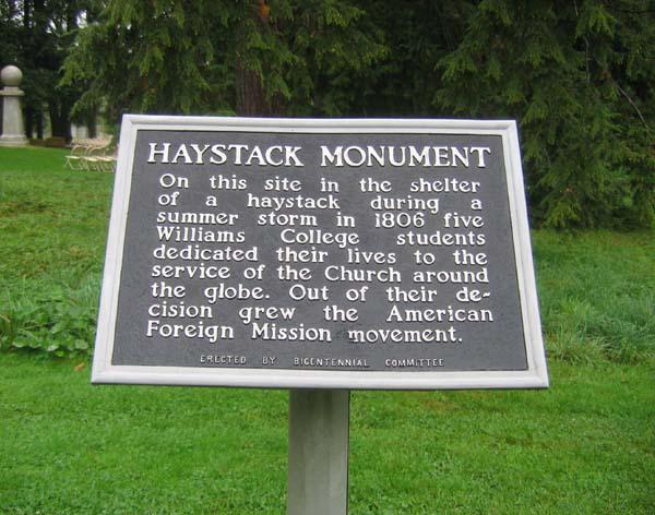Haystack Plaque