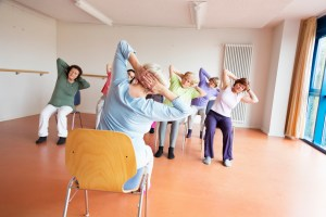 Chair Yoga @ Goldstone Caregiver Center at Danbury Hospital   Danbury   Connecticut   United States