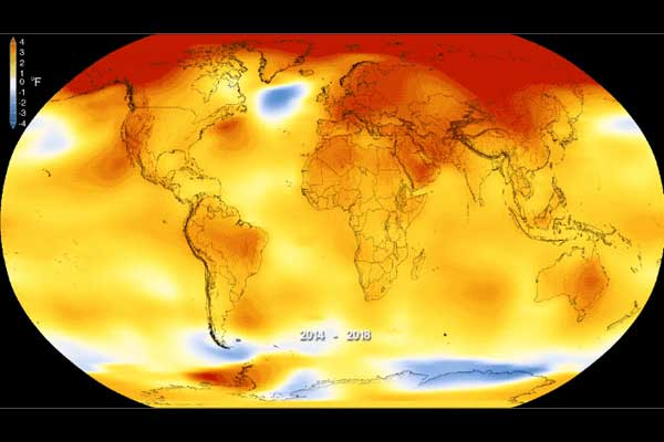 NASA's Temperature Estimate of Earth Heating Up is on Target – AgFax