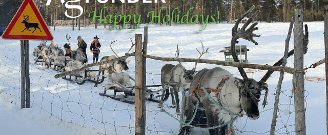 Happy Holidays from AgFunder!