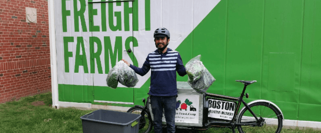 Freight Farms raises $3.7M from Spark Capital to grow food anywhere