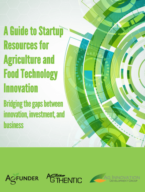 startup resources in agriculture